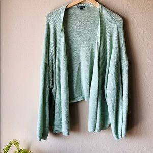 WILD FABLE Green Cardigan - Oversize - L - NWOT